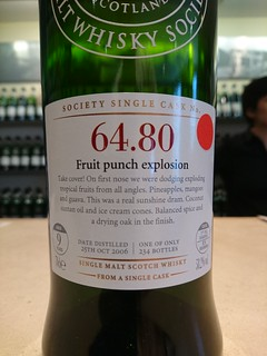 SMWS 64.80 - Fruit punch explosion