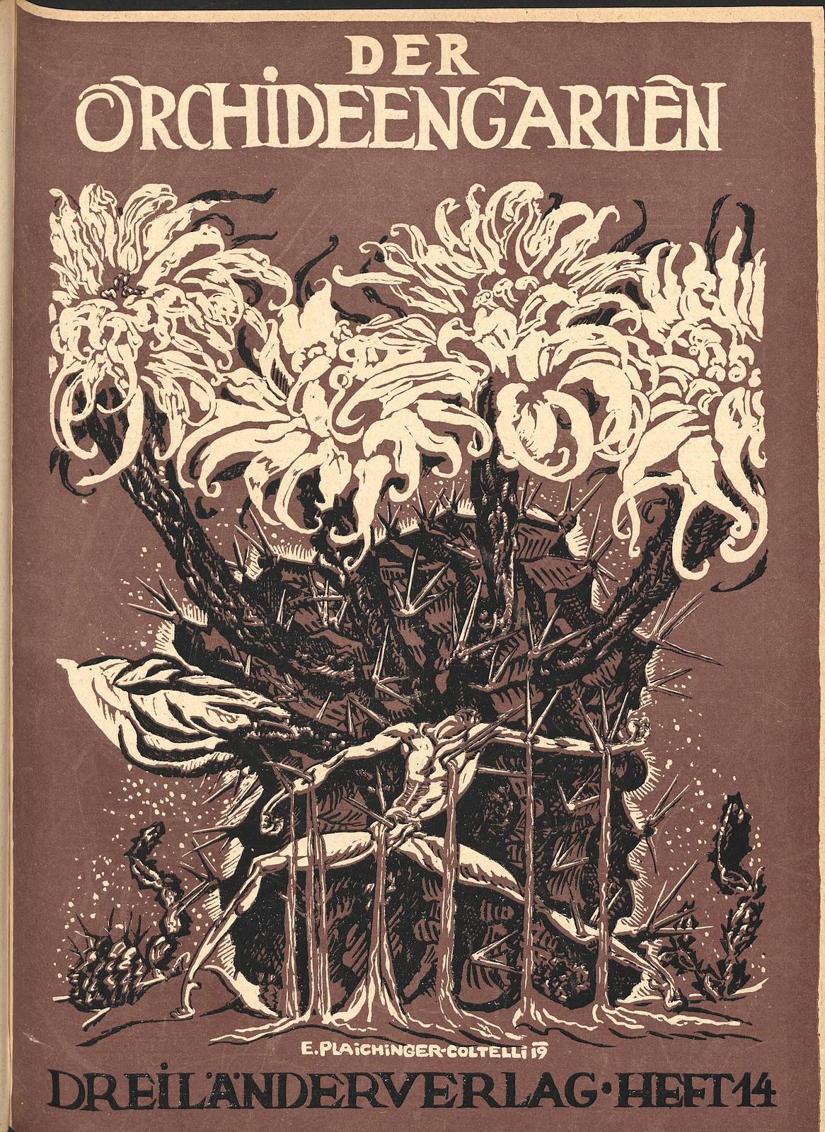 Der Orchideengarten - 1919 (Cover 14)