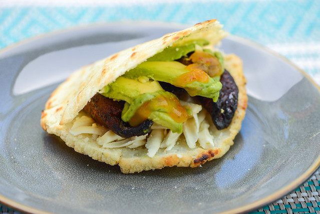 Guyanese Tropical Arepa