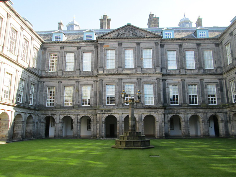 Holyroodhouse Palace Courtyard