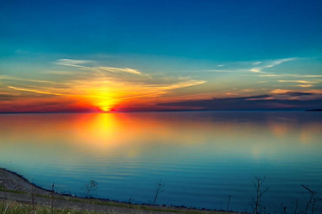 Sunset @ Little Traverse Bay