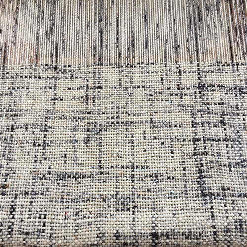 Seventh weaving project