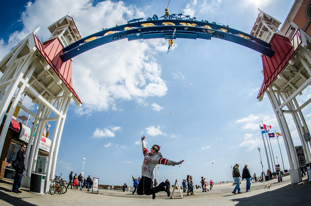 Ocean City Maryland JUMP!