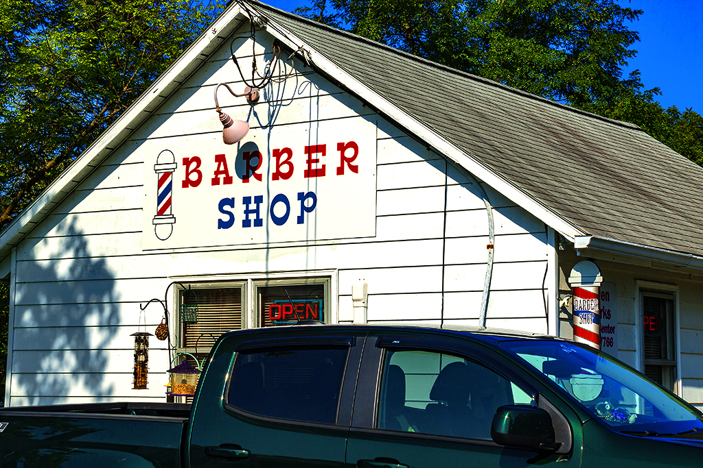 Barber Shop--Fort Indiantown Gap