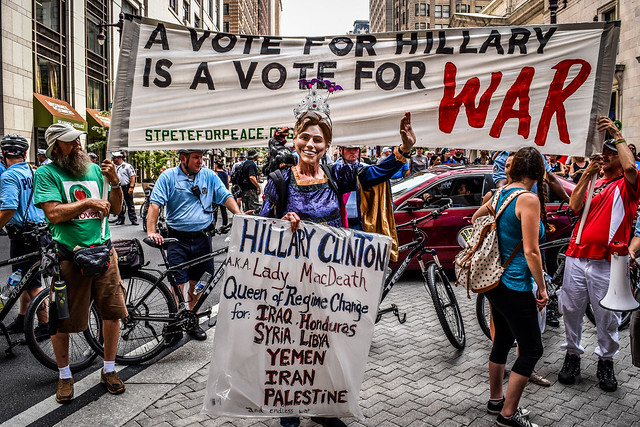 A Vote For Hillary Is a Vote For War