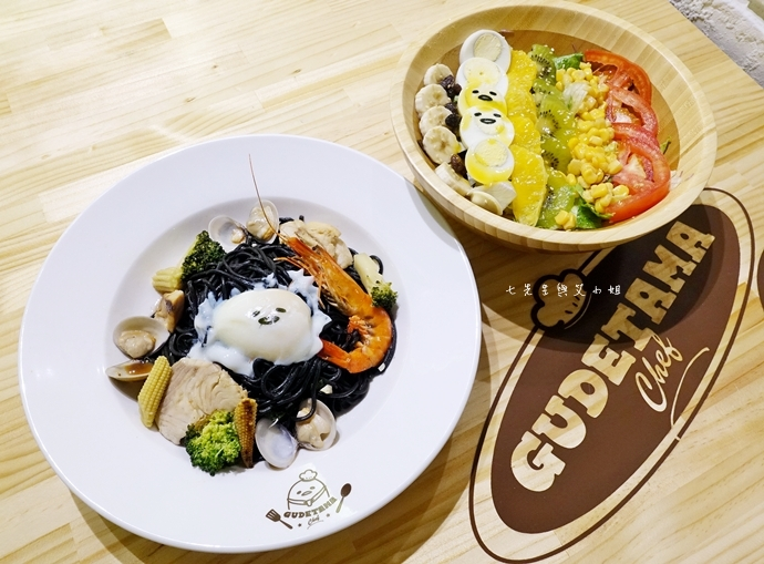 27 Gudetama Chef 蛋黃哥五星主廚餐廳 台北東區美食