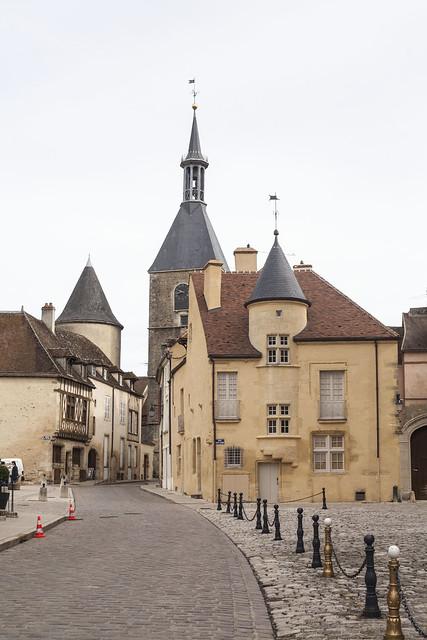 Vieille ville d'Avallon
