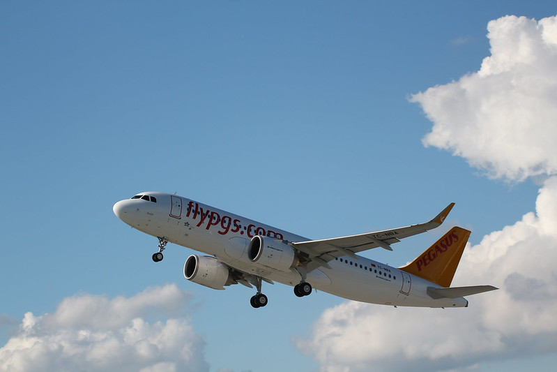 A320neo Pegasus TC-NBA delivery