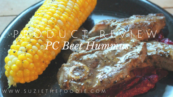 President's Choice Beet Hummus Product Review