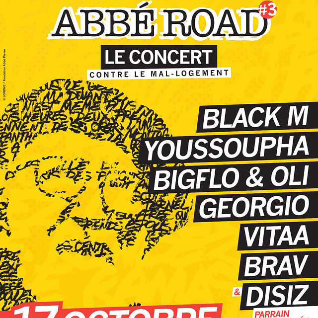 Concert La Fondation Abbé Pierre : Abbé Road 3