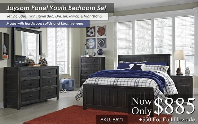 Jaysom Youth Bedroom Set