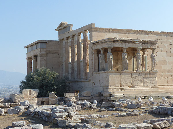cella ouest erechtheion