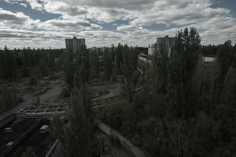 Pripyat town square