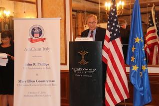 Ambassador Phillips' visit to Calabria