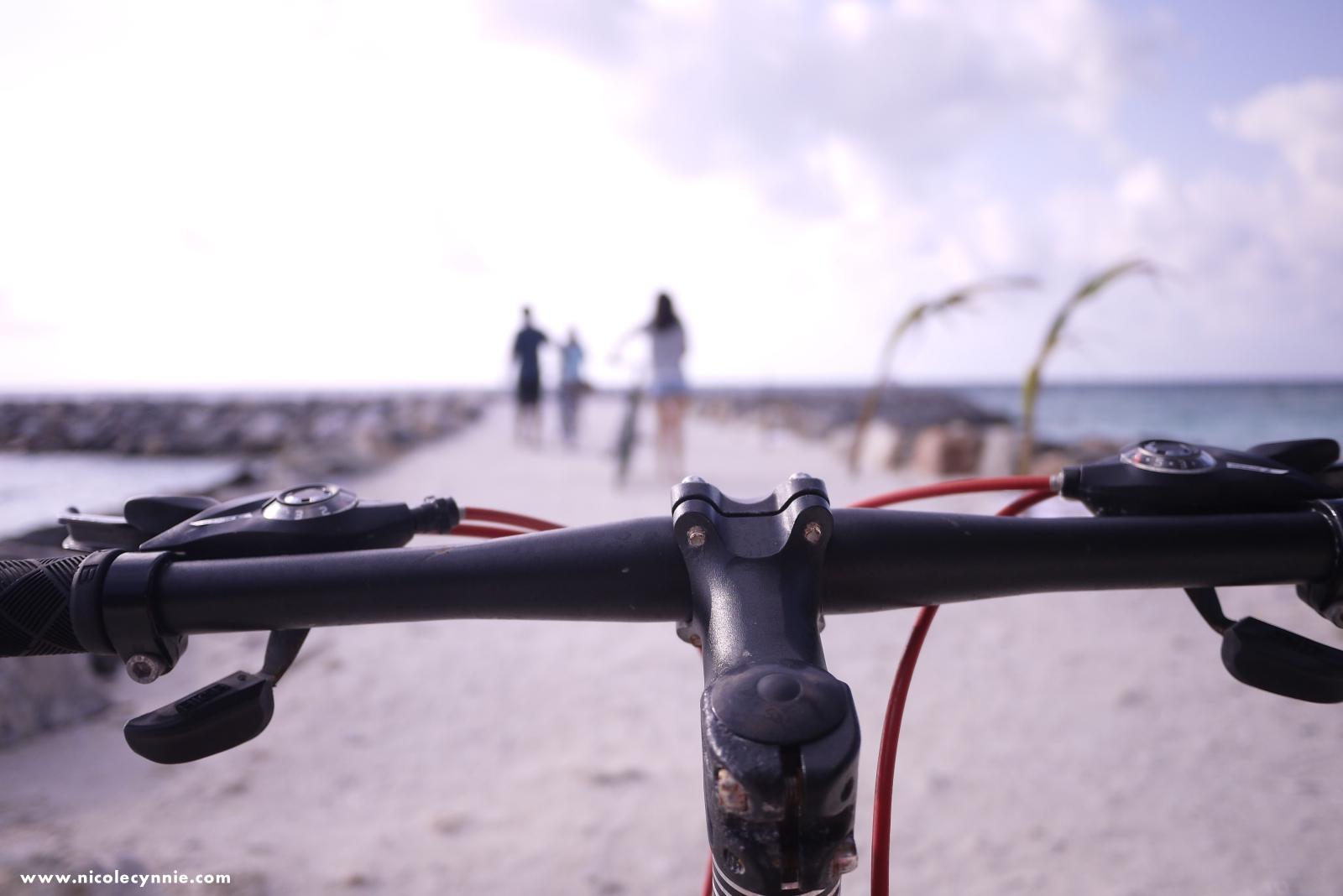 Cycling, Maafushi Island