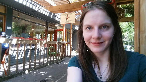 El Diablo Coffee Selfie Queen Anne Seattle