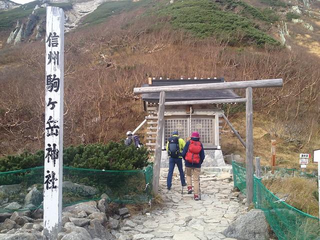 木曽駒ヶ岳 駒ヶ岳神社