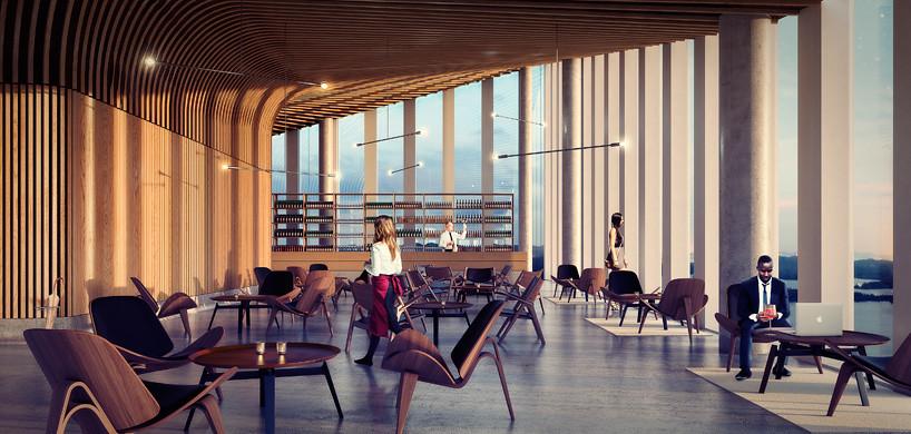 Самая высокая башня Норвегии от Schmidt Hammer Lassen