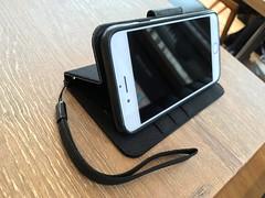 iPhone6ケース交換、新旧手帳型ケース