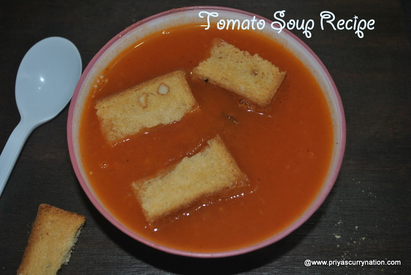 tomato soup recipe how to make tomato soup at home restaurant style soup. Black Bedroom Furniture Sets. Home Design Ideas