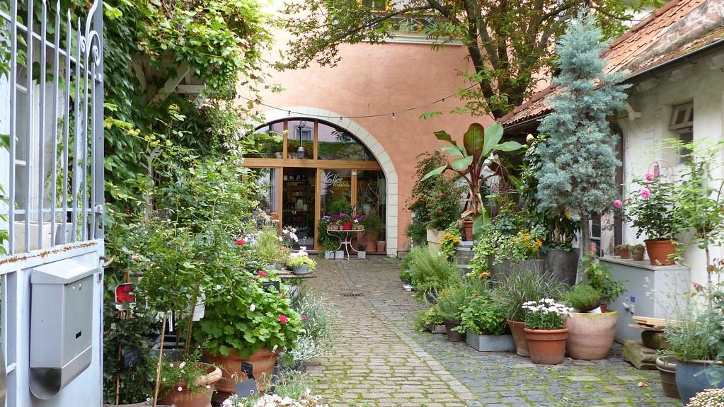 Innenhof an der Herrnsheimer Hauptstraße