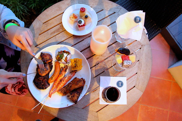 Four Points By Sheraton Singapore BBQ & Brew Flatlay