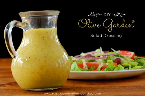 Diy Homemade Olive Garden Salad Dressing Flickr Photo Sharing