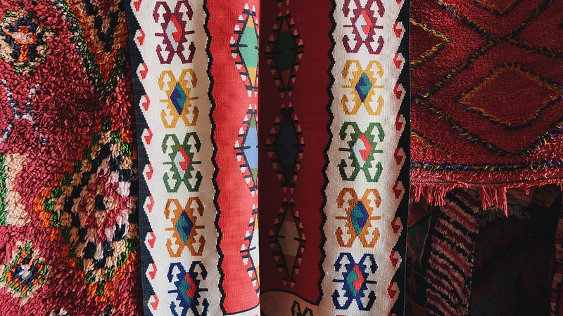 Marrakech Morocco Carpets