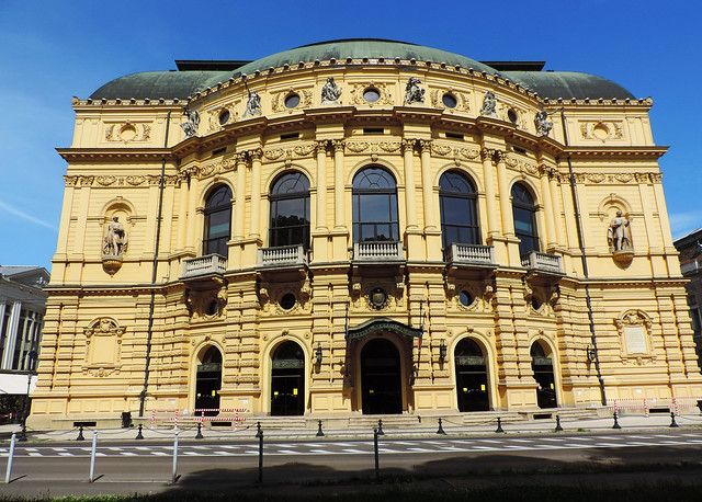 Hungarian National Theater, Szeged, Hungary