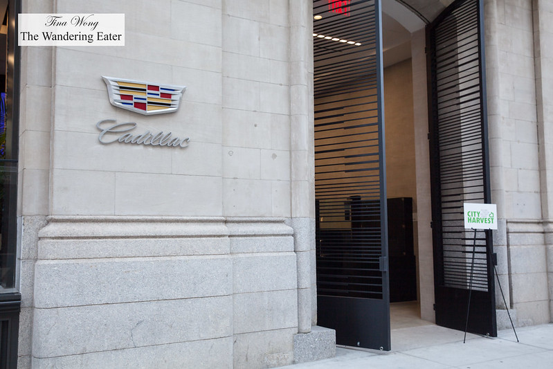 Entrance to Cadillac House