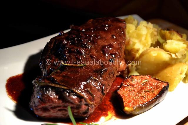 Magret de Canard Sauce au Bordeaux & Figues Rôties © Ana Luthi Tous droits réservés 26