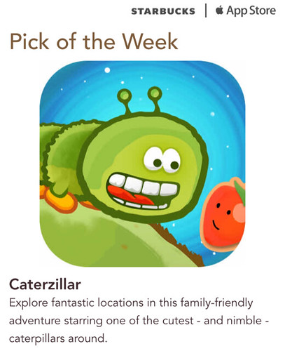 Starbucks iTunes Pick of the Week - Caterzillar