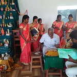 Vijiya Dasami & Vidyaramba celebration in vkv Vallioor