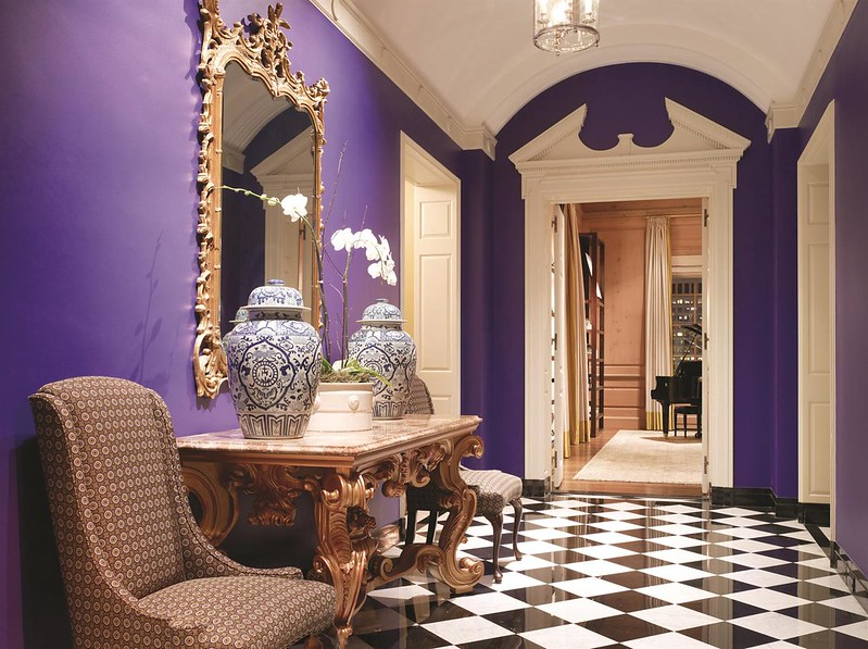 Hallway within the Penthouse Suite at the Fairmont San Francisco