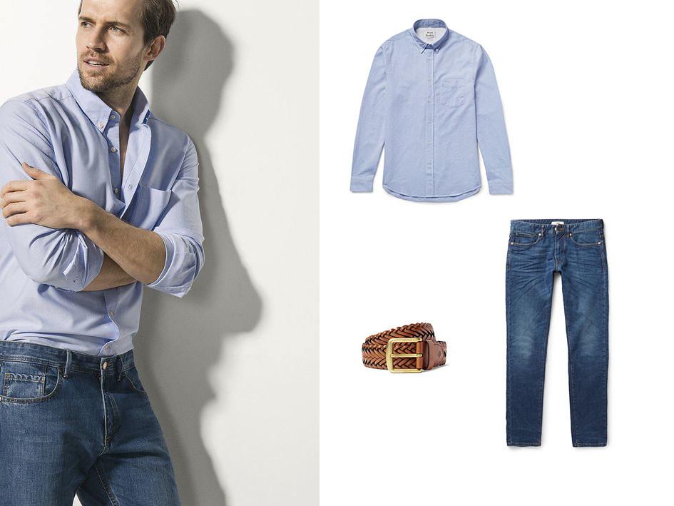 Camisa azul 07