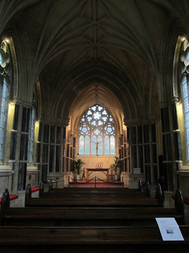 Kylemore Abbey Gothic Cathedral Altar