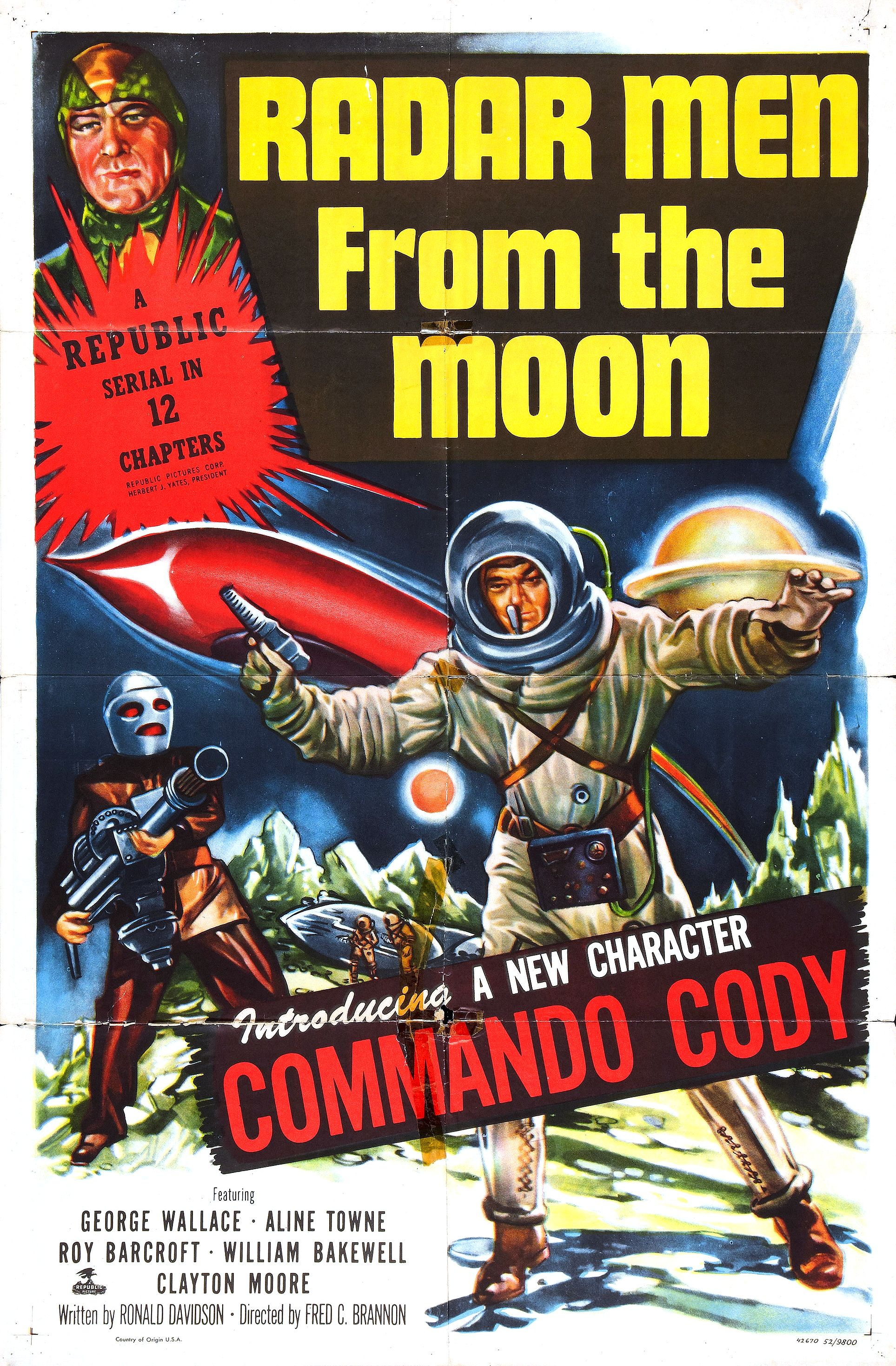 Radar Men from the Moon (1952)