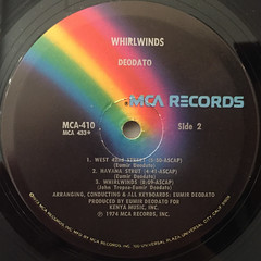 DEODATO:WHIRLWINDS(LABEL SIDE-B)