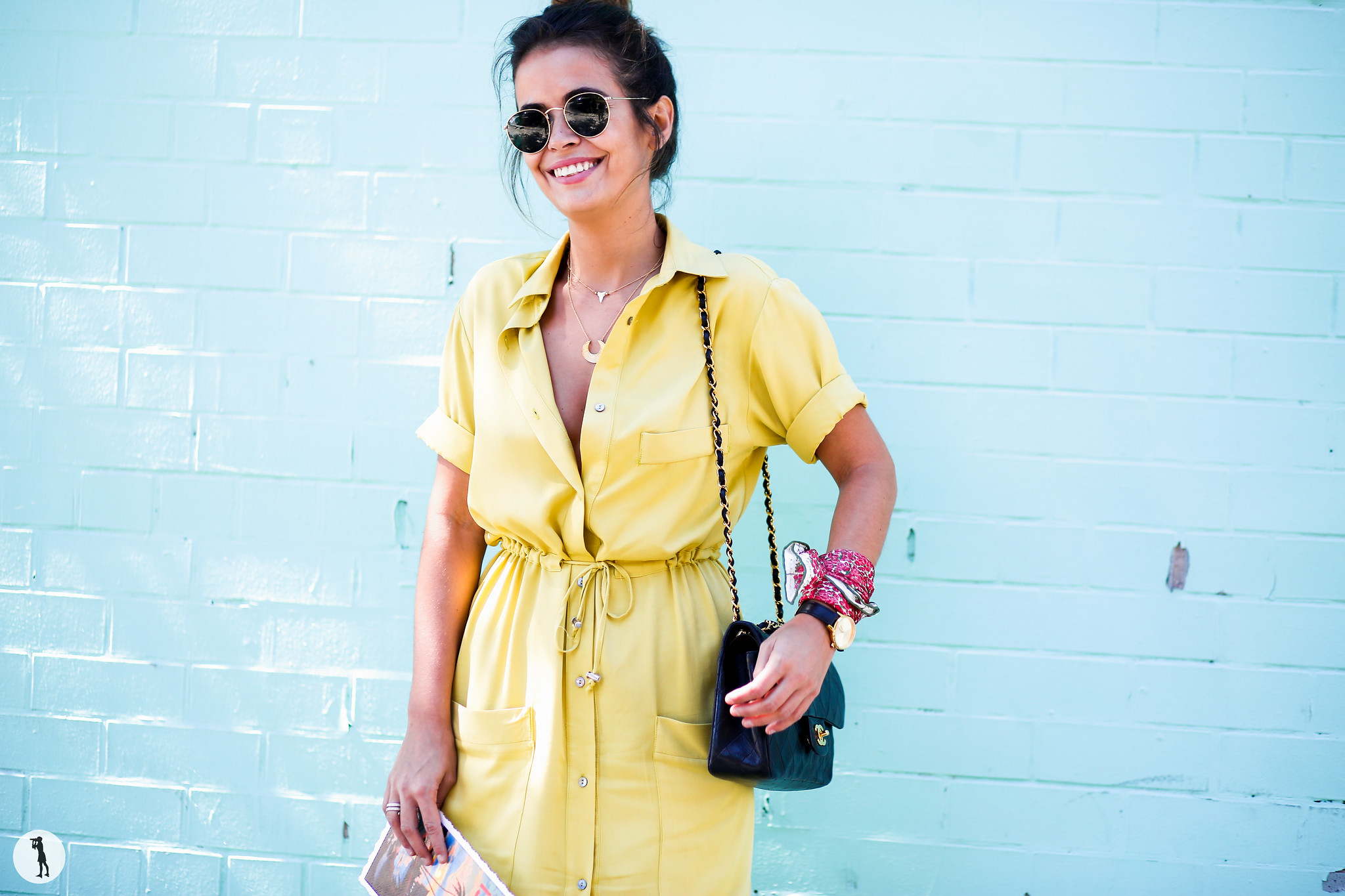 Sara Escudero at New York Fashion Week 2