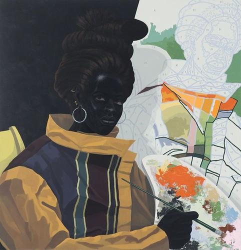 Kerry James Marshall, Untitled (Painter), 2009