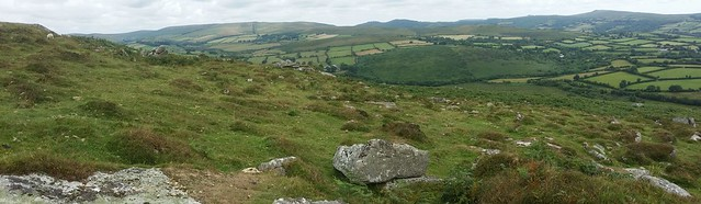 View from Corndon North Tor