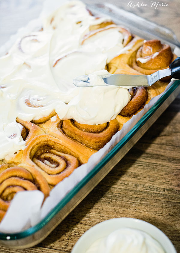a video tutorial for these easy and delicious cinnamon rolls - plus 4 more recipes