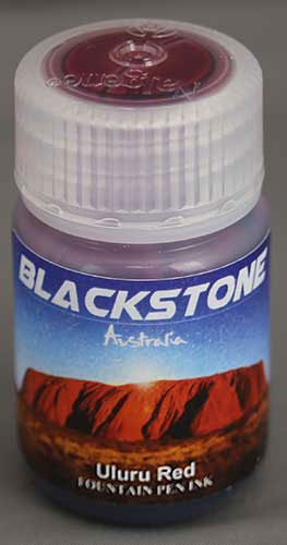 Ink Shot Review Blackstone Uluru Red @AndersonPens 1