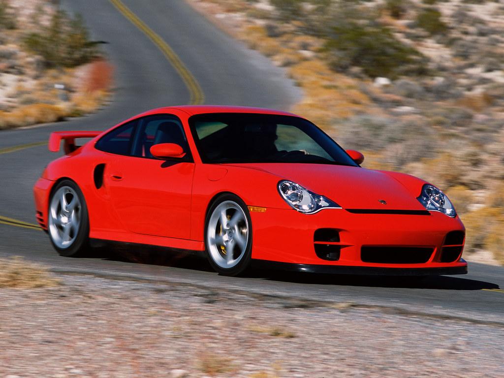 Porsche 911 GT2 для рынка США (кузов 996). 2001 – 2003 годы