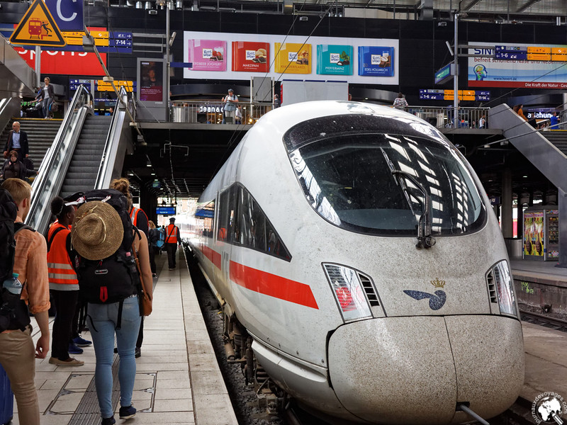 Le train DSB pour Copenhague