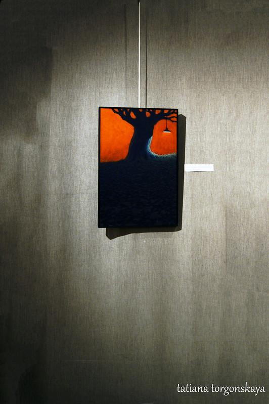 """Андреас М. Визе """"Коммерческое дерево с лампой"""""""