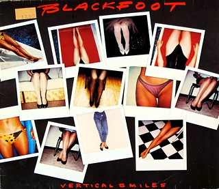 "BLACKFOOT VERTICAL SMILES 12"" LP VINYL"