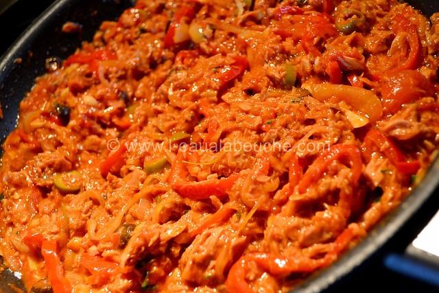 Pancakes Salés Au Thon & Poivrons Rouges © Ana Luthi 013