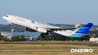 Garuda A330-343 msn 1733