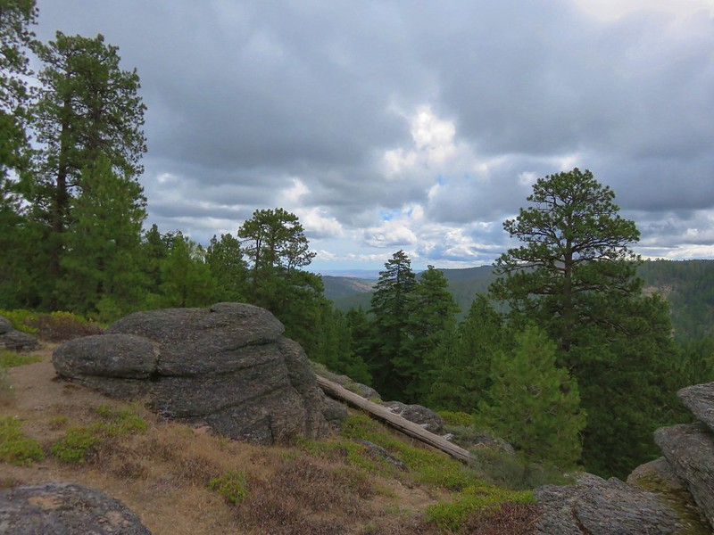 View from the Fifteenmile Trail